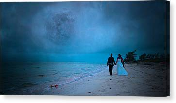 The Wind Of Change Canvas Print by Betsy C Knapp