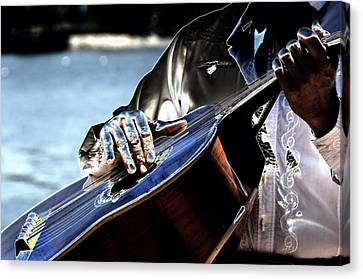 Blue Notes Canvas Print by Lyle  Huisken