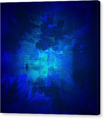 Blue Omni Canvas Print by Alli Cullimore