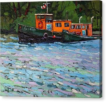 Blue Quail Canvas Print by Phil Chadwick