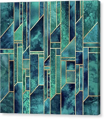 Blue Skies Canvas Print by Elisabeth Fredriksson
