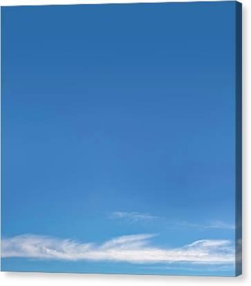 Blue Sky Canvas Print by Scott Norris