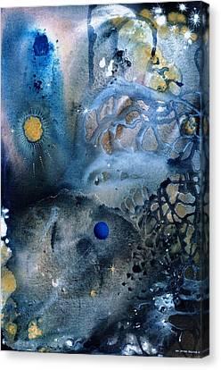 Blue Star Rising Canvas Print by Lee Pantas