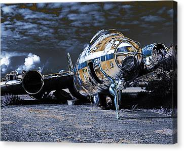 Blue Streak 2 Canvas Print by RTP Fine Art Photography