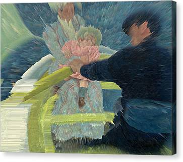 Blue Waters Canvas Print by David Bridburg