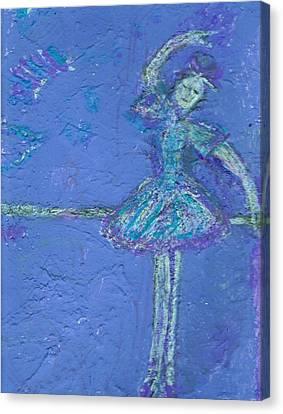 Bluedream Canvas Print by Anne-Elizabeth Whiteway