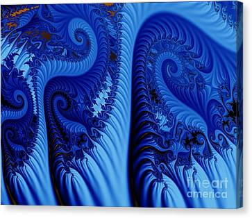 Blues Canvas Print by Ron Bissett