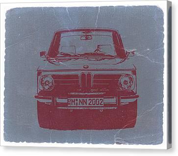 Bmw 2002 Canvas Print by Naxart Studio
