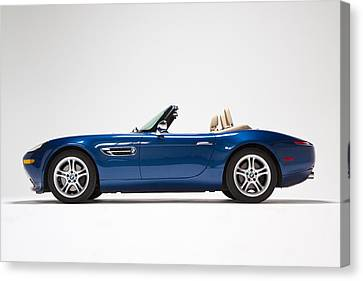 Bmw Z8 Canvas Print by Dean Farrell