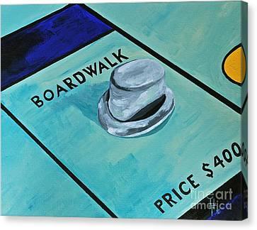 Boardwalk Canvas Print by Herschel Fall