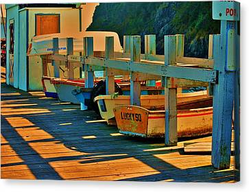Boat Ride Canvas Print by Helen Carson