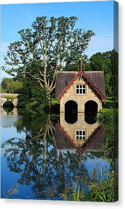Boathouse Canvas Print by Joe Burns