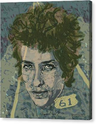 Bob Dylan's Highway 61 Canvas Print by Suzanne Gee