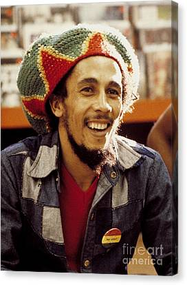 Bob Marley 1979 Canvas Print by Chris Walter