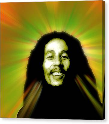 Bob Marley  Canvas Print by Stephanie Brock