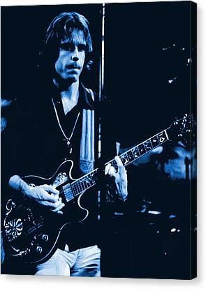 Bob Weir At Winterland 1977 Canvas Print by Ben Upham