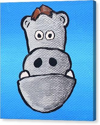 Bobby Bernstein Canvas Print by Jera Sky