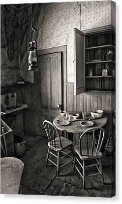 Bodie Kitchen Canvas Print by Kurt Golgart