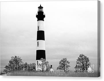 Bodie Lighthouse Canvas Print by Jeff Holbrook