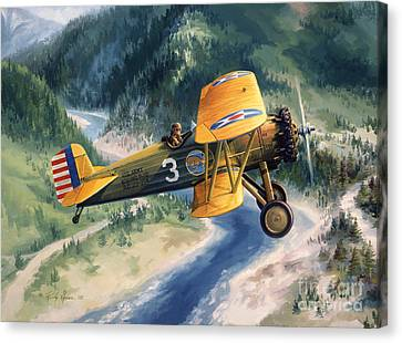 Boeing Country Canvas Print by Randy Green