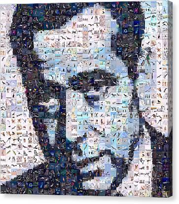 Bogart Canvas Print by Gilberto Viciedo