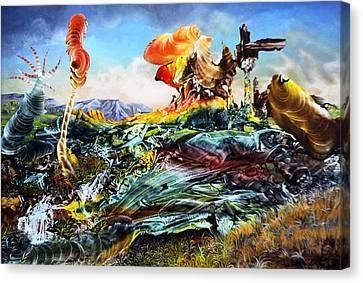 Bogomil Landscape Canvas Print by Otto Rapp