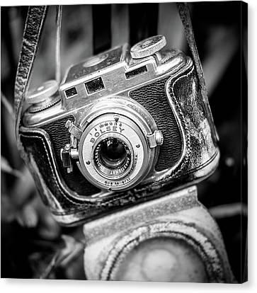 Bolsey B Rangefinder Camera Canvas Print by Jon Woodhams