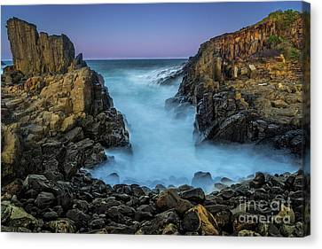 Bombo Twilight Canvas Print by Paul Woodford