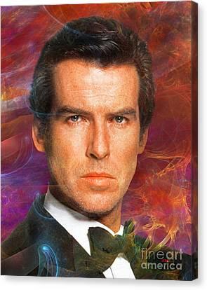 Bond - James Bond 5 Canvas Print by John Robert Beck