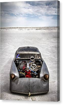 Bonneville Speed Week Images Canvas Print by Holly Martin
