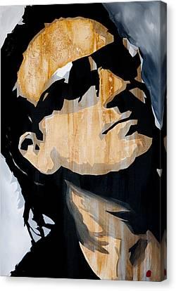 Bono Canvas Print by Brad Jensen