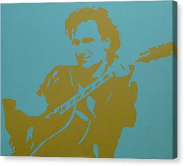 Bono Canvas Print by Doran Connell