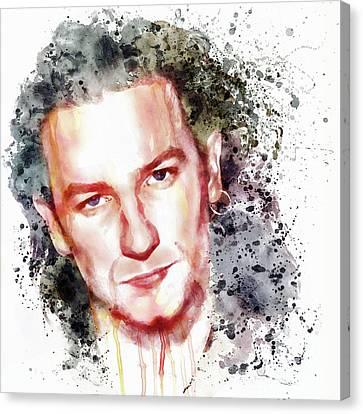 Bono Vox Canvas Print by Marian Voicu