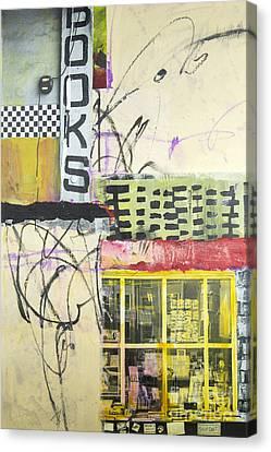 Books Canvas Print by Elena Nosyreva