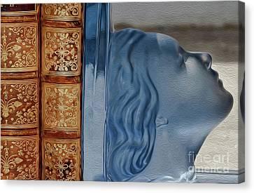 Books Canvas Print by Eleni Mac Synodinos