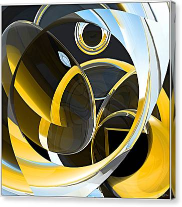 Boolean Refractions Canvas Print by Peter J Sucy