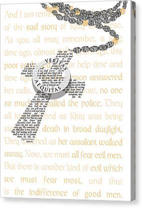 Boondocks Canvas Print by Jennifer Westlake