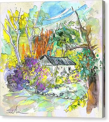 Borderes Sur Echez 02 Canvas Print by Miki De Goodaboom