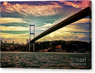 Bosphorous Bridge Canvas Print by Nilay Tailor