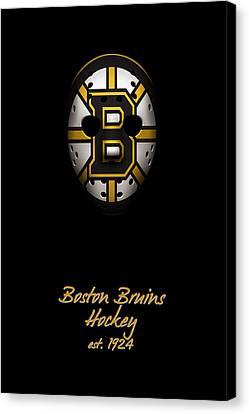 Boston Bruins Established Canvas Print by Joe Hamilton