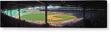 Boston Fenway Park Canvas Print by Juergen Roth