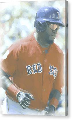 Boston Red Sox David Ortiz 2 Canvas Print by Joe Hamilton