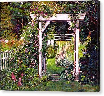 Botanical Paradise Canvas Print by David Lloyd Glover
