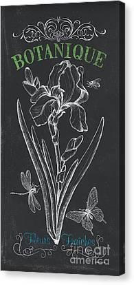 Botanique 1 Canvas Print by Debbie DeWitt