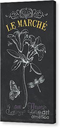 Botanique 3 Canvas Print by Debbie DeWitt