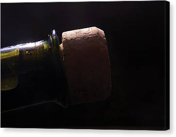 bottle top and Cork Canvas Print by Steve Somerville