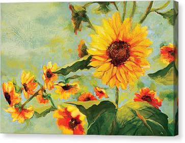 Bow Down Canvas Print by Jen Norton