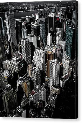 Boxes Of Manhattan Canvas Print by Nicklas Gustafsson