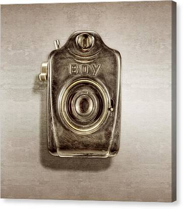 Boy Camera Front Canvas Print by YoPedro