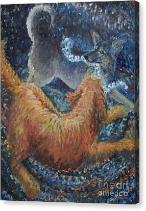 Braided Rug Canvas Print by Jim Rehlin